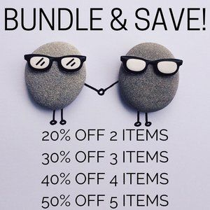 SAVE UP TO 50% WHEN YOU BUNDLE!!